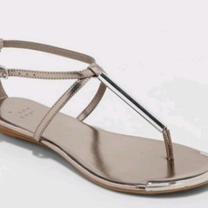 women archer T Strap thong sandals - a new day pew